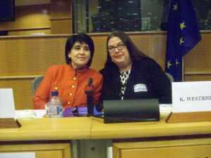 Leyla Zana and Karianne Westrheim
