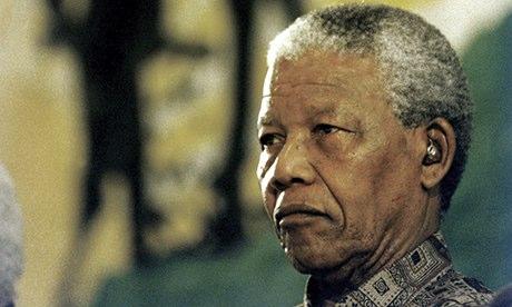 South African President Nelson Mandela