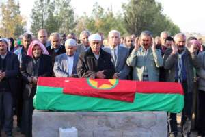 Funeral for a YPG fighter