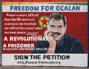Free ocalan mural