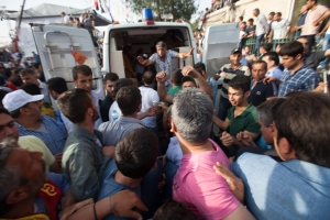 Explosion at the last HDP rally in Diyarbakir kills two