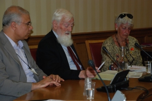 Dr Alan Semo, Lord Hylton and Margaret Owen